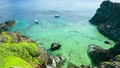 南国の珊瑚礁と船 6946426