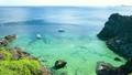 南国の珊瑚礁と船 6946429