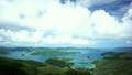奄美・大島海峡 (高知山から望む) 7513384