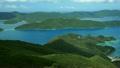 大島海峡 (パン 左→右) 7513388