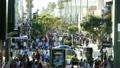 Santa Monica's pedestrian heaven time lapse 7809380