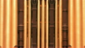 Mormon Tabernacle organ pipes zoom out HD 8272463