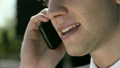 Young businessman talking on the telephone. Close-up 9165407