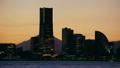 みなとみらい21の夕景 インターバル撮影 9630601
