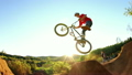 Slow Motion Extreme BMX Bike Trick  10175914