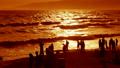 그림자, 해변, 파도 10656810