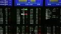 株価ボード 各指標 (経済イメージ素材) 10882191