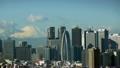 【富士山インターバル撮影映像】日本の象徴富士山と東京の象徴新宿高層ビル群-545 「大迫力・流れる雲」 11114984