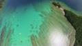美しい奄美の海の空撮 (前進) 11670510