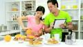 kitchen, tablet, morning 11699773