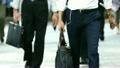 大都会東京 朝のビジネス街 通勤シーン[ハイスピード撮影120fps・スローモーション映像]077 11933580