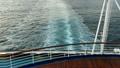 大型客船の最後尾からの眺め_3 11952739