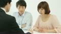 若い男女と営業マン 12066538