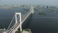 Aerial Bay nautical vessels Rainbow Bridge Odaiba Tokyo Shuto Expressway 12226364