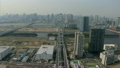 Aerial Metropolitan elevated vehicle Expressway Tokyo city  Japan 12226449