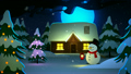 winter snowman snowfall 12333338