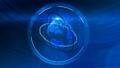 Motion Design element - Blue Planet - Opener 12342523