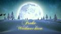 silhouette, woods, snowy 12738638