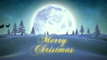 silhouette, snowy, christmas 12738746