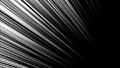 【抽象背景】 漫画風効果・移動線(左上から中央) 13070869
