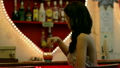 gorgeous asian woman alone at bar 13262282