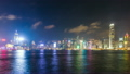 time lapse day to night hong kong cityscape victoria harbour and symphony of light 13282824