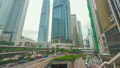 Hyperlapse video of busy traffic in Hong Kong in the daytime 13694065