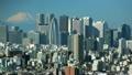 富士山と新宿高層ビル群 インターバル撮影 FIX 13760907