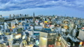 Tokyo Cityscape Time Lapse Pan 13764542