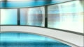 Virtual News Studio Set Background 14026587