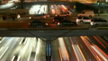Time Lapse - Overhead View of Traffic on Busy 10 Freeway in Downtown Los Angeles 14068805
