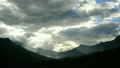 Time Lapse of Clouds / Shadows Passing over Rice Farm Terraces in Sapa Vietnam 14070128