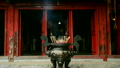 Incense Sticks Burning in Giant Pot in Front of Buddhist Temple  14070133