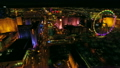 Las Vegas Aerial Cityscape Strip Night 14544129