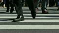 東京駅前丸ノ内 朝の通勤風景 イメージ ボディパーツ  ハイスピード撮影 スローモーション映像 14700048
