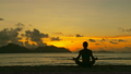 meditation at sunset 14763870