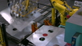 Robotic Arms Moving Sheet Metal Along Assembly 15186295