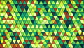 colorful glass triangles pattern seamless loop 15220686