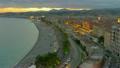 Coastline of Nice at sunset, France 15477622