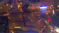 Paris from roof at night, France 15477630