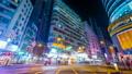 Night view of modern city. Time lapse. Hong Kong 16413074