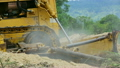 Unidentified worker control Bulldozer to excavator 16456472