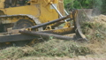 Unidentified worker control Bulldozer to excavator 16456473