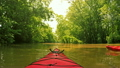 Kayaking on a creek 16590096