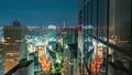 도쿄 신주쿠의 야경 (인터벌 촬영) 16687988