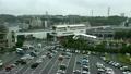 多摩モノレール駅・雨降りの風景 17162566