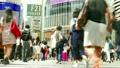 渋谷スクランブル交差点 地面ぎりぎりローアングル 超高速タイムラプス ズームイン→fix 17390840