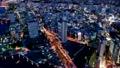 横浜みなとみらい 薄暮から夜景 (ミニチュア インターバル撮影) zoom out 17472710