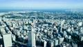 横浜市街 (インターバル撮影) zoom out 17483404
