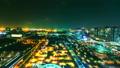 밤의 관람차 도쿄 오다이바 (인터벌 촬영) 17978983